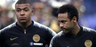 Neymar Mbappe