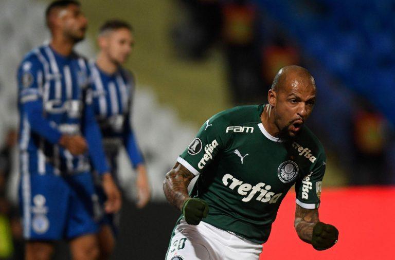 Palmeiras arranca um empate de 2 a 2 contra Godoy Cruz pela Libertadores