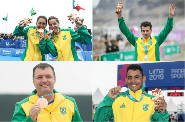 Brasil alcança o terceiro lugar no quadro de medalhas dos jogos Pan-Americanos