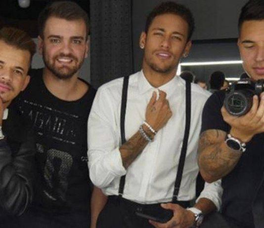 Parças e amigos de Neymar