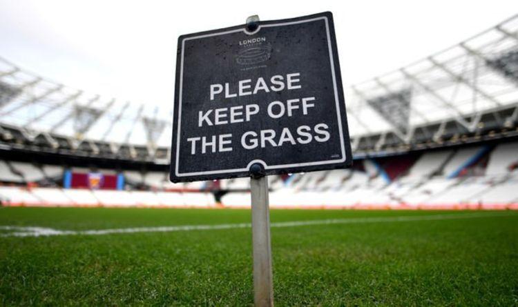 Clubes da Premier League desinfetam GRASS enquanto aguardam discurso de Boris Johnson amanhã | Futebol | Esporte
