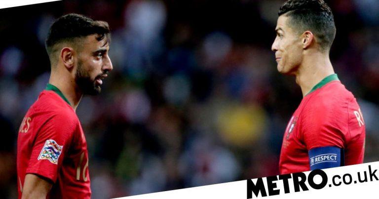 Notícias do Manchester United: Bruno Fernandes elogia o desempenho final de Cristiano Ronaldo na Liga dos Campeões
