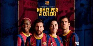 Nova camisa Barcelona
