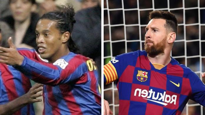 Ronaldinho e Messi