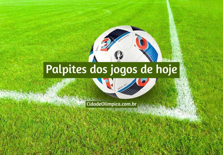 Jogos de hoje 06/02/2021 (futebol) e palpites