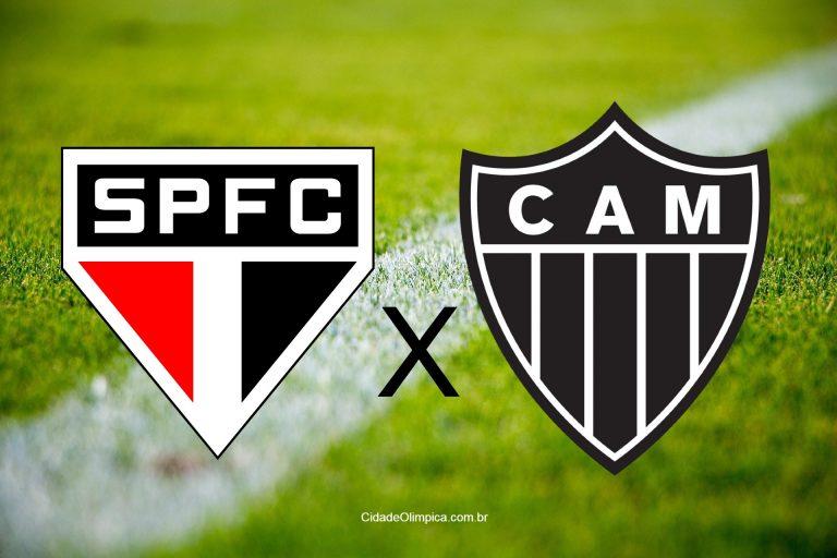 São Paulo e Atlético-MG se enfrentam hoje em jogo pelo Brasileirão