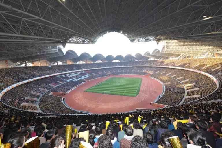 Estádio Primeiro de Maio Rungrado: O Maior estádio do mundo fica na Coreia do Norte