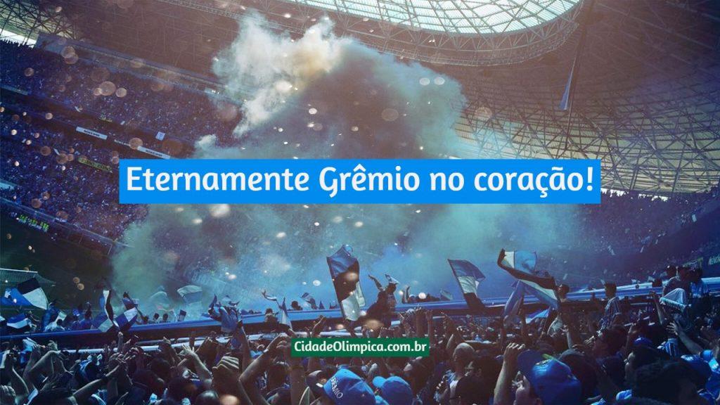 Eternamente Grêmio no coração!