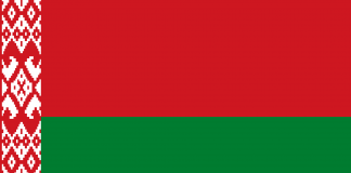 Bandeira Bielorrússia