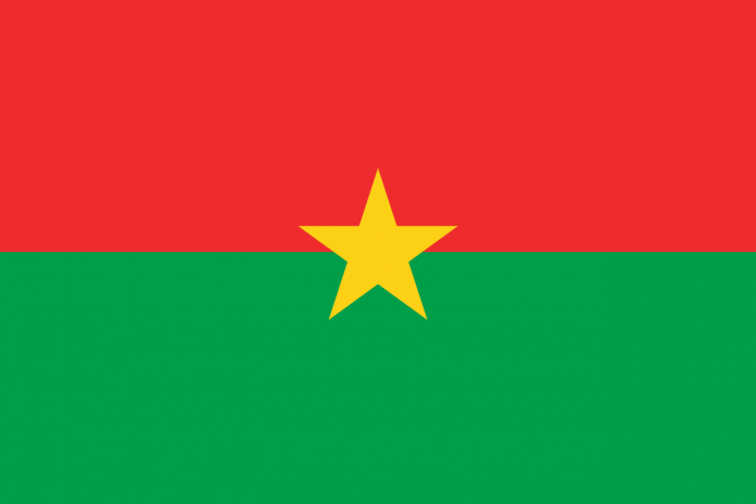 Bandeira Burkina Faso