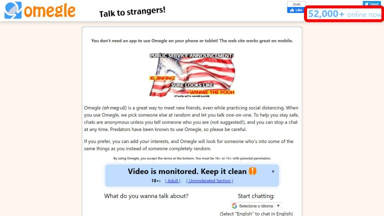 5 Alternatives to Omegle for you to try