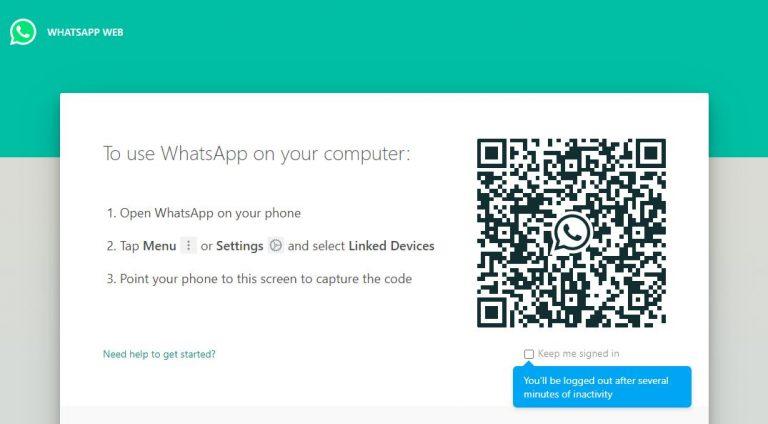 يقوم WhatsApp Web بإطلاق برنامج تجريبي عام
